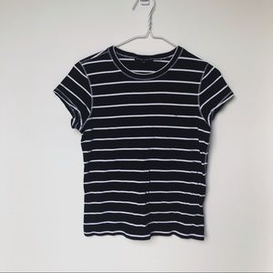 POLO RALPH LAUREN navy striped tee